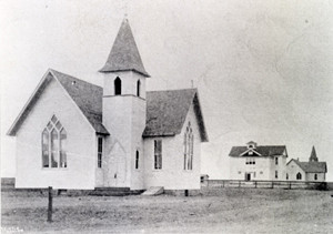 The Methodist Church in Wellington, which John Bee (see last week's post) helped to establish.