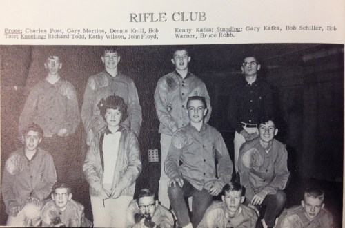 The 1965 Rifle Club.