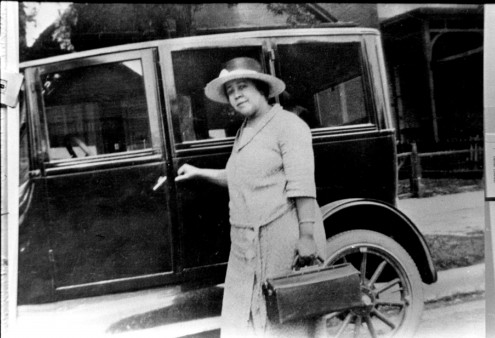 Dr. Justina Ford studied in Chicago and practiced briefly in Alabama before moving to Denver in 1902. (This photo is from a February 6, 2015 article in the Denver Post.)
