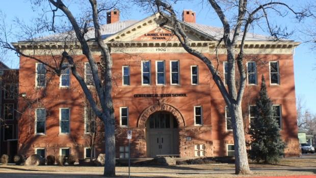 Centennial High School, formerly Laurel Elementary School.