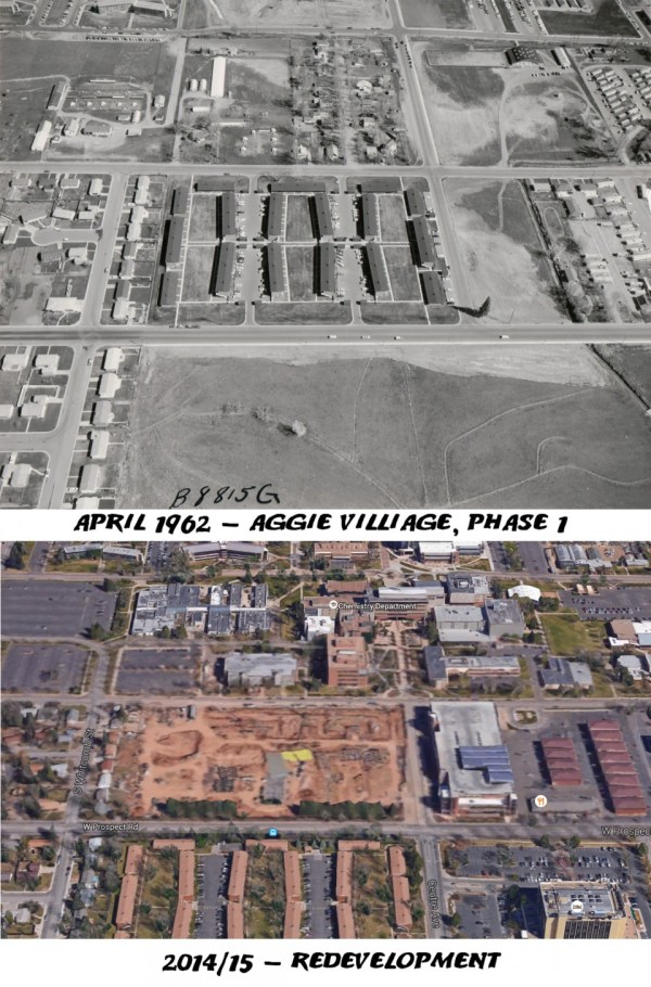 Aggie Village, April 1962-2014
