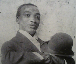 Otis McDaniel, born 1882, was a Vaudeville entertainer. (Photo from Lisa Burks via FindaGrave.com.)