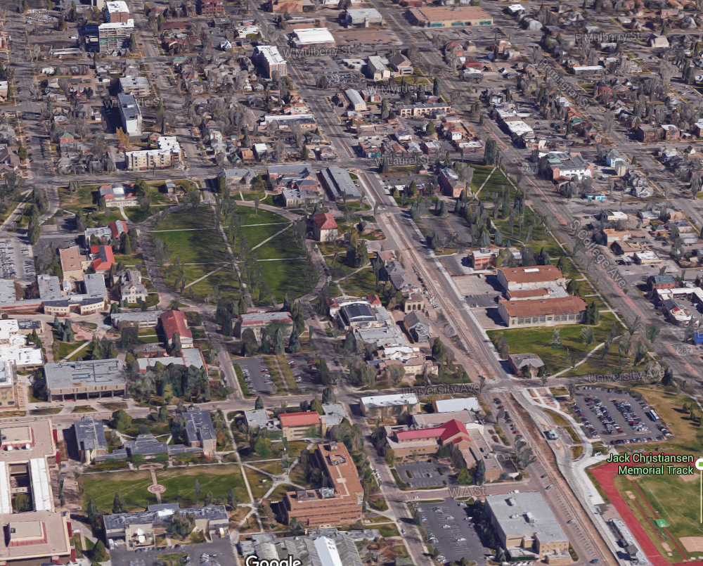Then & Now: the Oval in 1935 - Northern Colorado History