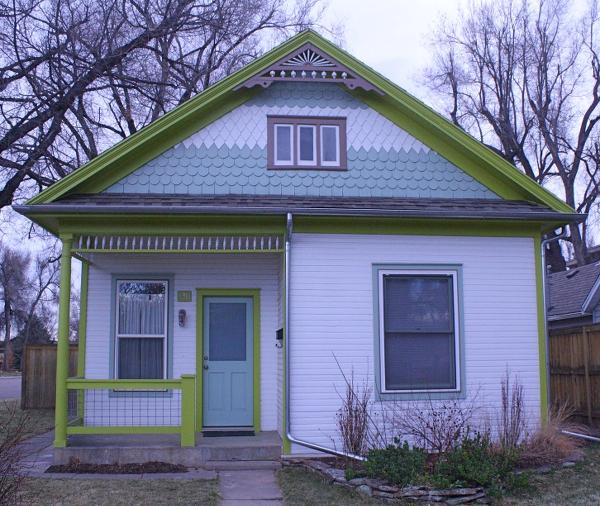 The house at 430 N. Loomis.