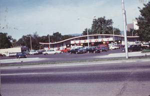 Here's a shot of when the building was still a Safeway. (Photo from the Fort Collins Archive - H09972.)