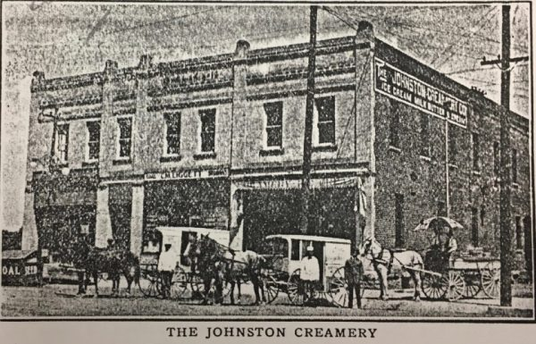 This grainy image of the creamery is from a July 1914 edition of the Fort Collins Morning Express which is on file at the Archive at FCMoD.