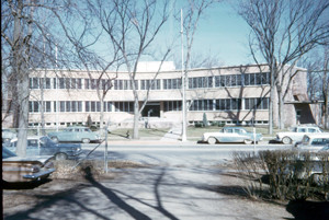 City Hall in 1959. (Fort Collins Archive #S00270.)
