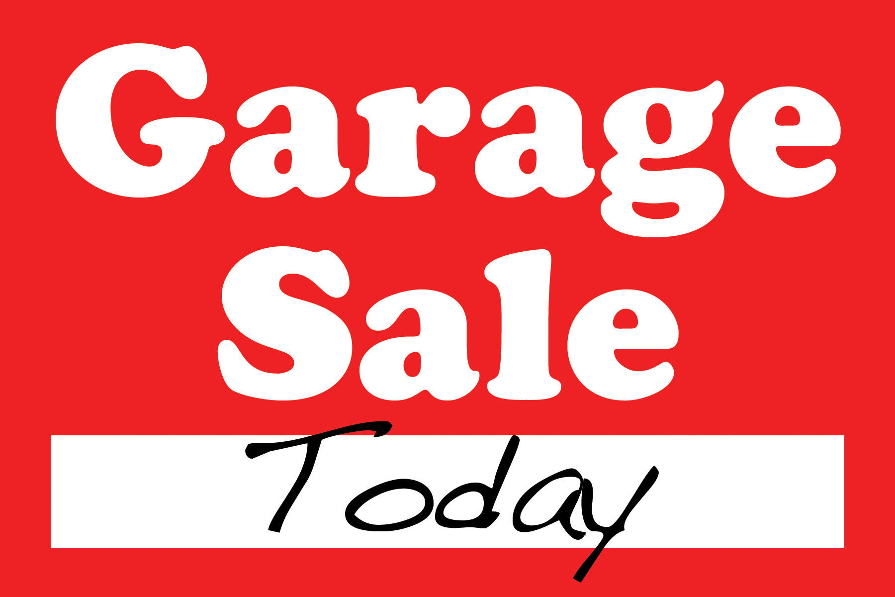 Image result for garage sale