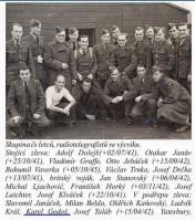 Adolf Dolejš (far left standing)