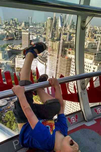 Lui on the London Eye