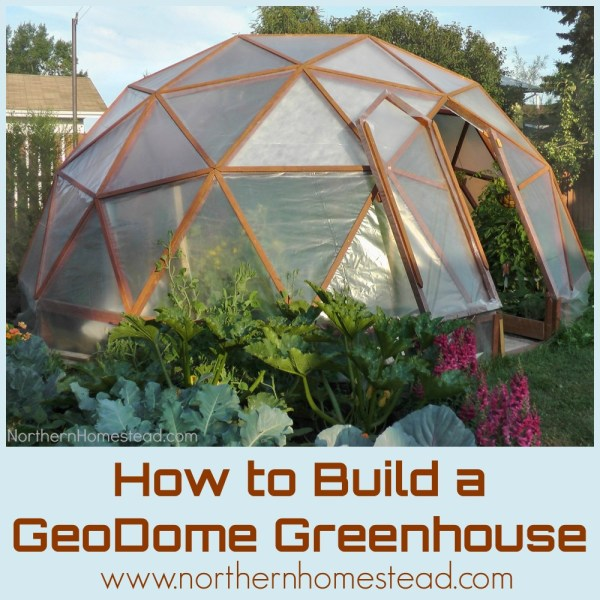 Build Geodesic Dome Greenhouse