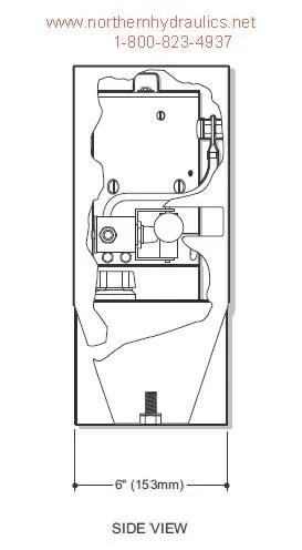 Bucher/Monarch Pump Model M-721 Dyna-chute Power Unit