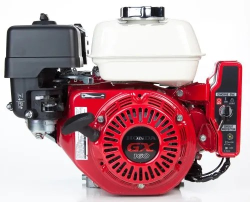 Gx160 Qxe2 Honda Engine Electric Start