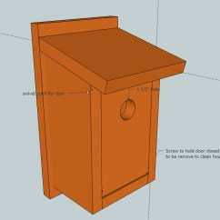 Diy Adirondack Chair Kit Camping Lounge Birdhouse Plans For Bluebirds How To Make « Resolute93bgx