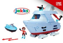 Junior Supers Hydroliner Playset