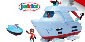 Junior Supers Hydroliner Playset