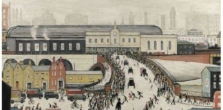 L.S. Lowry - Station Approach, Manchester