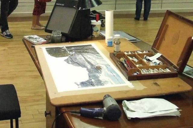 painting winter geoff butterworth