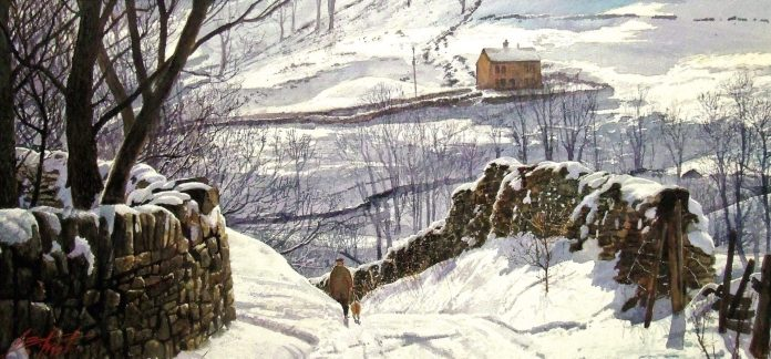 painting winter geoff butterworth