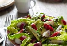 Lowri Turner's Radish avocado and pumpkin seed salad