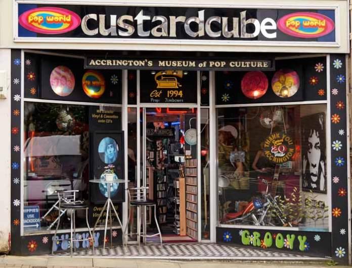 Custard Cube