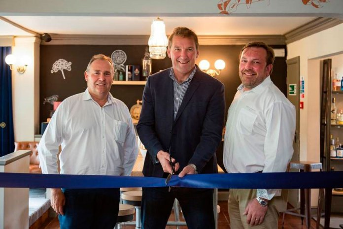 Matthew Pinsent at Slingsby Gin