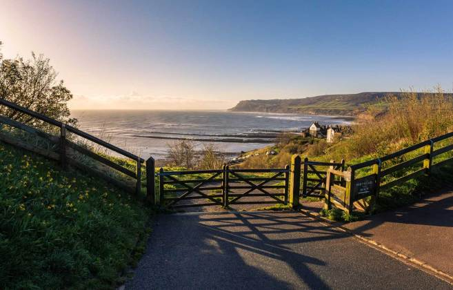North East coast - Robin Hoods Bay