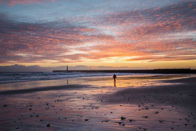 North East coast - Sunderland Roker