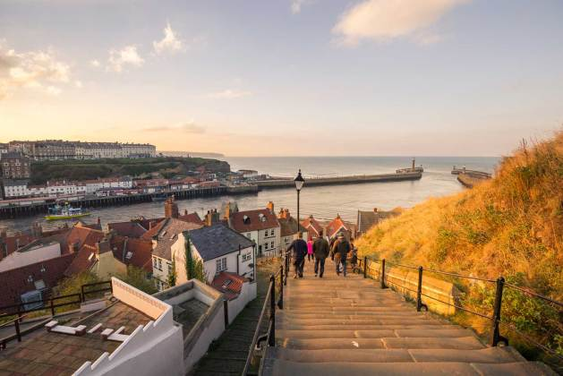 North East coast - Whitby 199 Steps