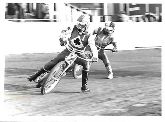 Eric Broadbelt speedway racing in the 70's