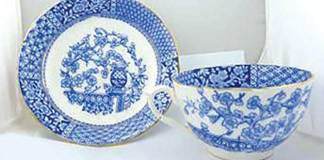 Antique cups and saucers