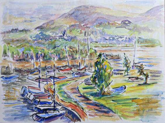 Portiscale Marina Keswick - Anthony W Hill
