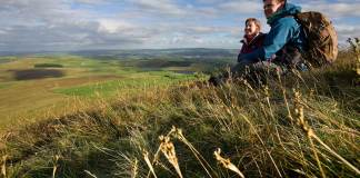 Climbing Pendle Hill