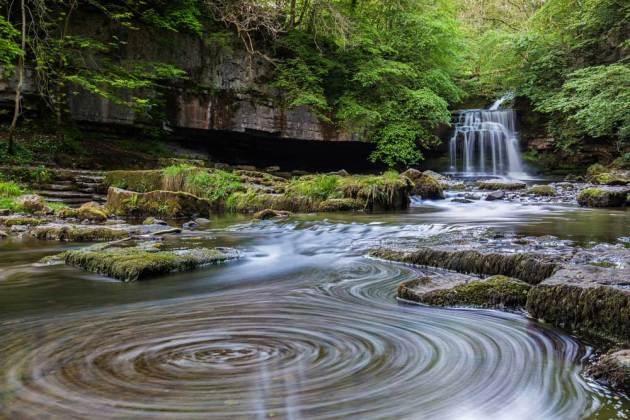West Burton Falls by Dave Zdanowicz