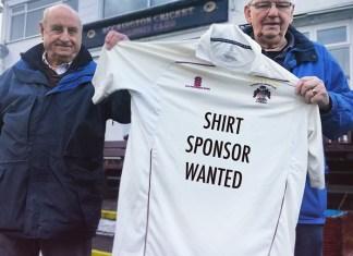Accrington Cricket Club shirt sponsor