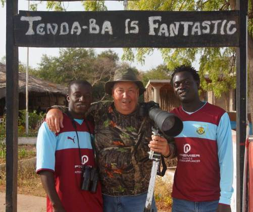 Bob Rawlinson with Musa and a friend