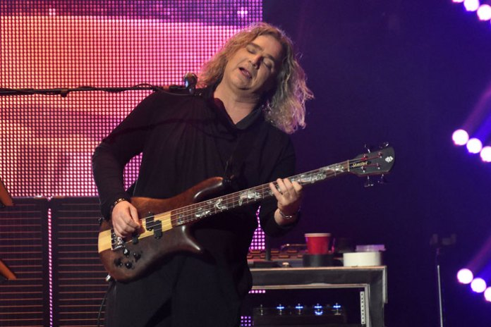 Billy Sherwood, bass guitar and backing vocals