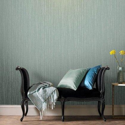 Bamboo Texture Green Wallpaper