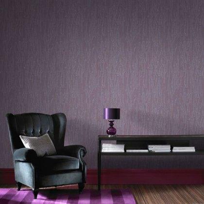 Crushed Silk Purple Wallpaper