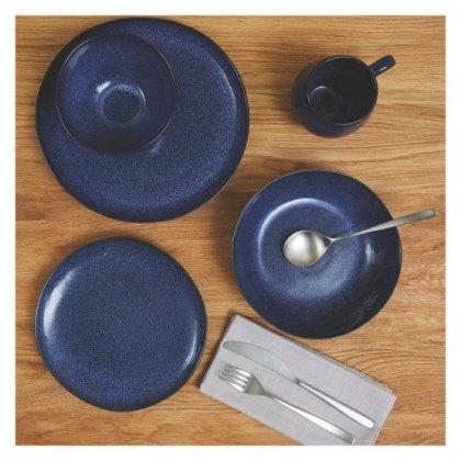 OLMO Dark blue 12 piece dinner set