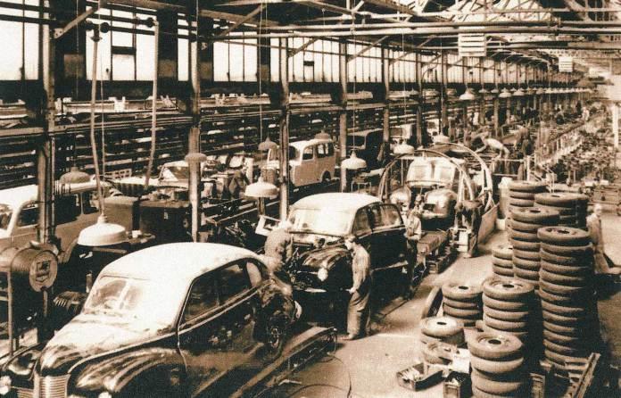 Jowett Cars Ltd in Idle, near Bradford
