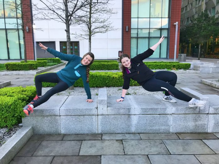 Northern Life's Chloe McLaughlin trying her hand at Parkour