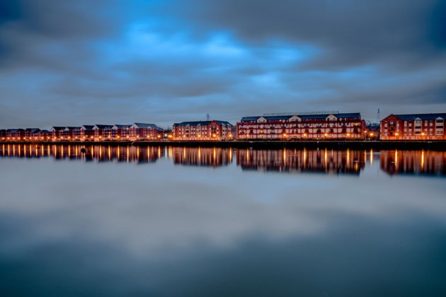 Preston Docks by Jaison Chacko Mathew