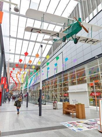 St Stephen's kite installation