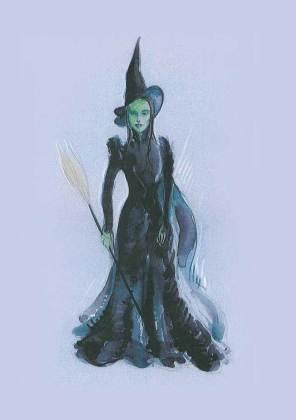 Elphaba Wicked Witch Dress by Susan Hilferty