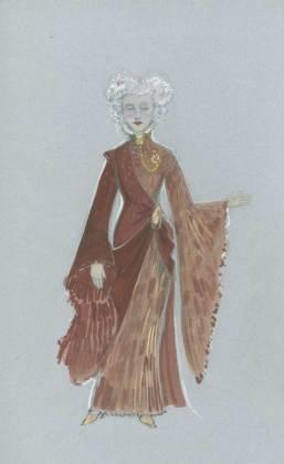 Madame Morrible at Shiz