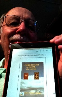 Photo-RogerBruner with my book.
