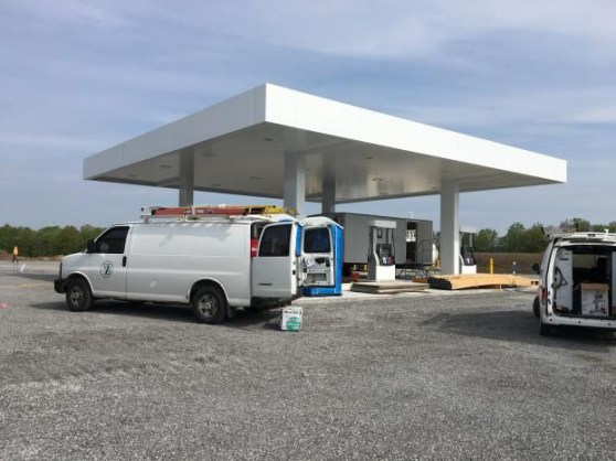 New Gas Station