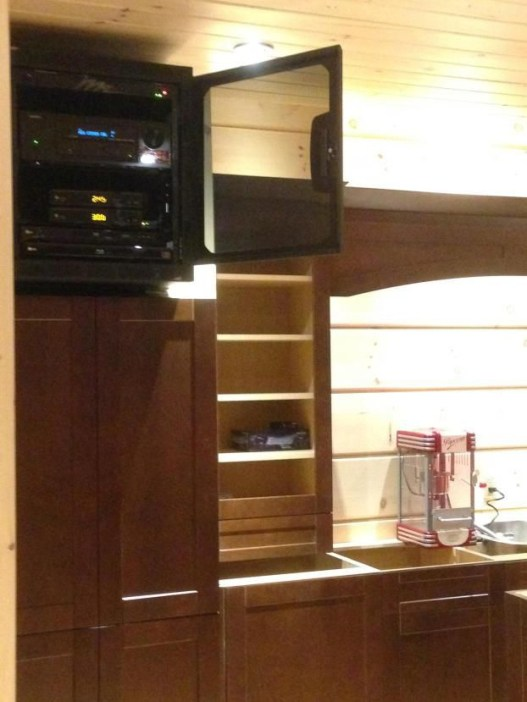 Over Cabinet Installation