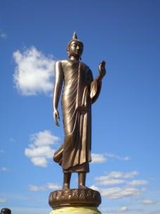 The Buddha in Fredrika, Lappland